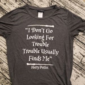Tops - Harry Potter Trouble Tshirt